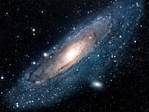 Even people who know nothing about astronomy correctly guess that this galaxy is Andromeda.  I think intergalactic travel is instinctive and in our very genes.