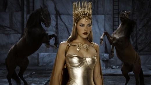 Isabel Lucas as Athena
