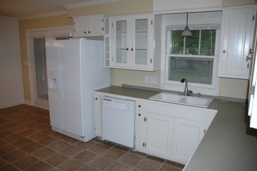 Kitchen renovation tips for a new look using existing for Add beadboard to kitchen cabinets