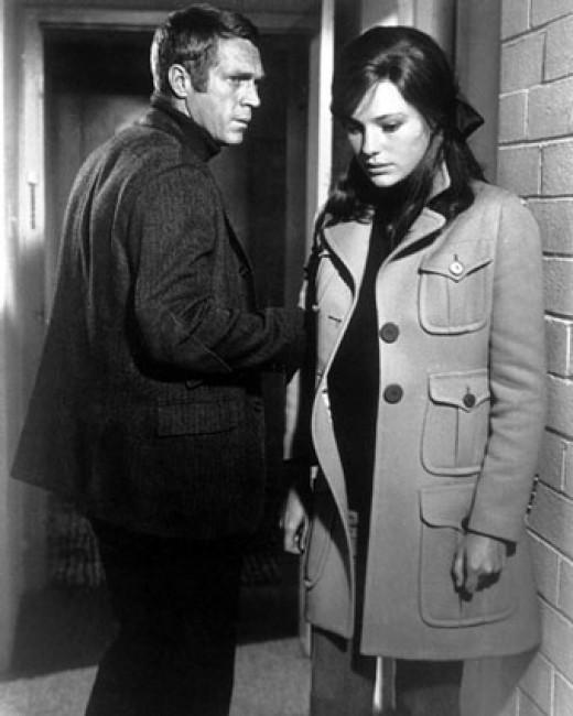 Steve McQueen and Jacqueline Bisset