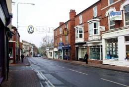 Main Street Kimberley, Nottinghamshire, Great Britain