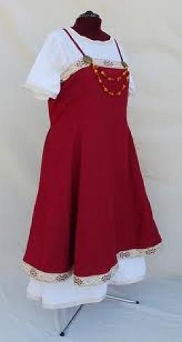 A wealthier woman's dress from Thorsbjerg - south-western Jutland, near Angeln in modern-day Schleswig (Germany)