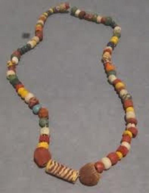 North German decorative bead necklace