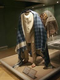 Thorsbjerg apparel with 'tartan' cloak