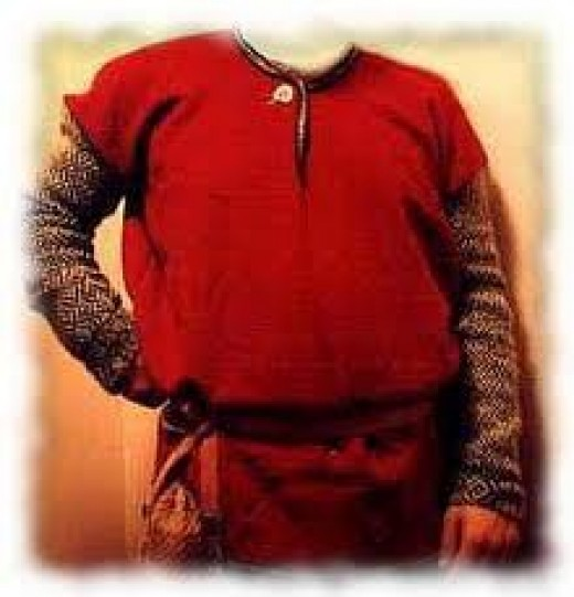 Thorsbjerg over-shirt worn over another shirt (longer-sleeved)