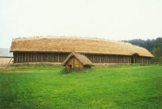 Danish great hall at Fyrkat, Sjaelland