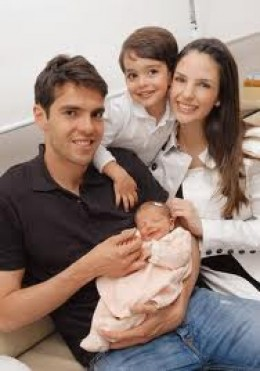 Kaka and his family