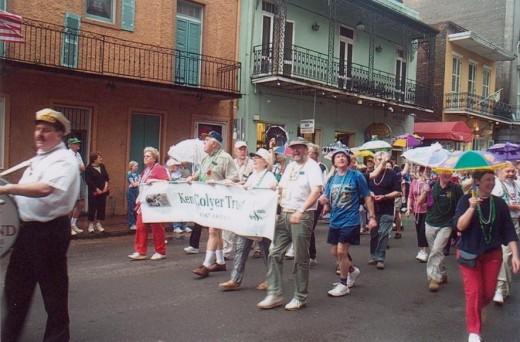 The festival parade