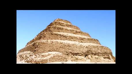 One of the oldest step Pyramids in Egypt, possibly older than the Great Pyramid at Giza