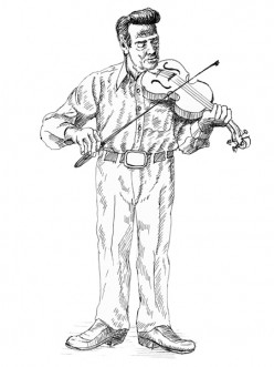 Cajun Fiddler