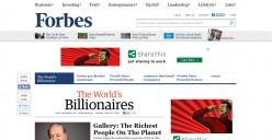 Forbes Top Ten Billionaire's list