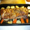 Roasted Pork Loin Dinner