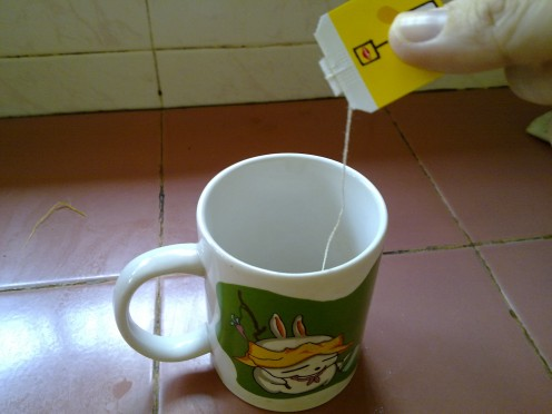 Want a cuppa tea? Easy  as 123, tea bags a convenient way to brew a cup of tea in the morning
