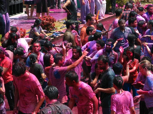 The ultimate fun and excitement of Holi