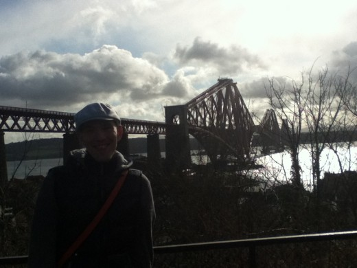 calpol25 at the Forth Rail Bridge