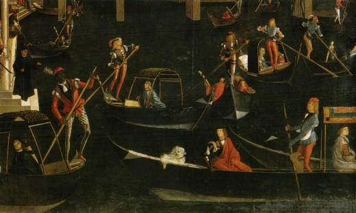 Vittore Carpaccio's Miracle at the Rialto (Healing of a Madman)