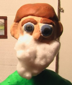 "Charlie Butters In ""Toilet Toothbrush"" Claymation Cartoon"