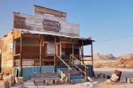 "A General Store in the town of Rhyolite, Nevada. I'm sure it saw a lot of business ""back in the day."" Picture taken in May of 2007."