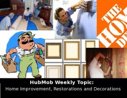 HubMob Weekly Topic: Home Improvement, Restorations and Decorations