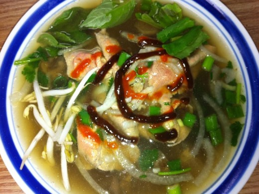 "How can I deny my mother's homemade bowl of ""PHO"" beef noodle soup? This meal takes HOURS to perfect."