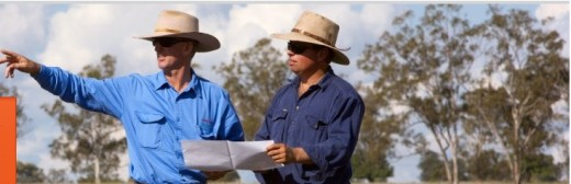 This image shows the kind of  chit chat coal seam gas companies want on your land once you let them in. However watch out. They will be very charming people, they will look like farmers and wear farmers' hats and blue shirts.