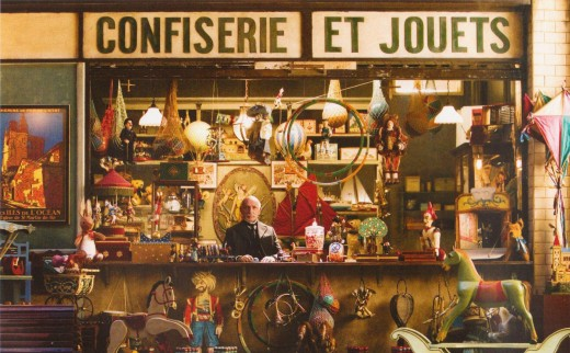 "GEORGES MELIES SHOP OF ""CONFISERIE ET JOUET"" (SWEETS AND TOYS) IN THE TRAIN STATION OF THE MOVIE ""HUGO"""