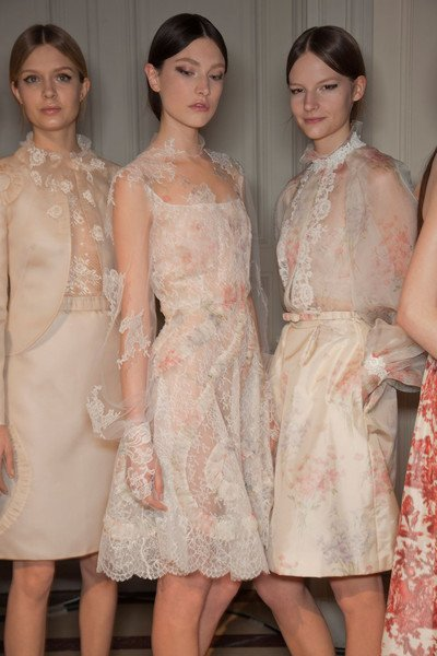 Valentino Spring Collection Backstage