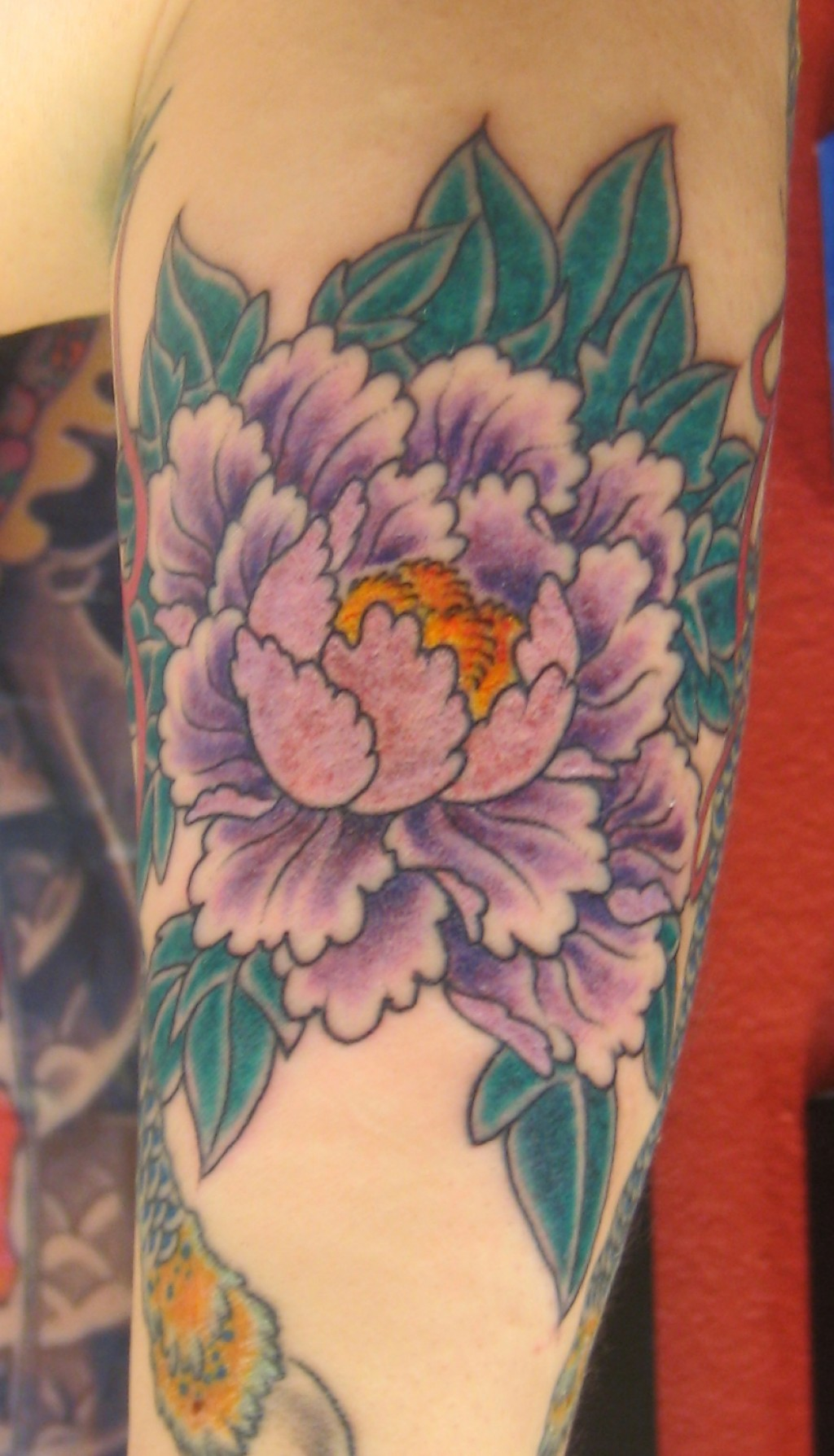 Peony Flower Tattoo Designs and Meanings