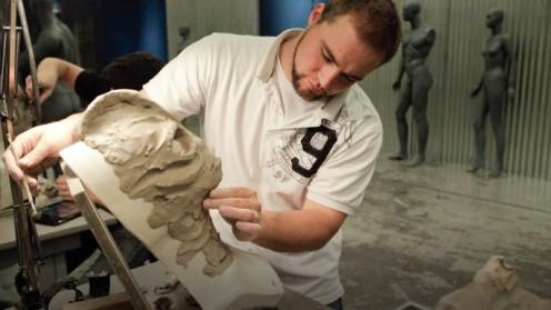 Rayce sculpting