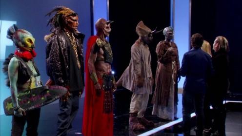 Sue, RJ, Matt, Ian and Rayce's models