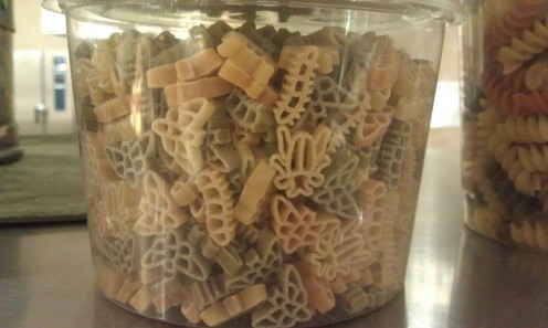Insect shaped pasta would make a great addition to pasta salad for a picnic!