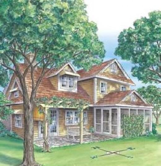 An energy-saving landscape design. Source: rd.com