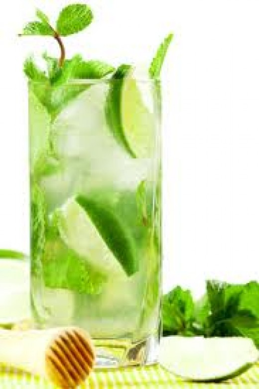 Mojito - a great refresher in a hot and humid climate.