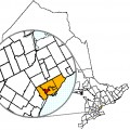 Map location of Toronto's York