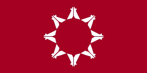Flag of Pine Ridge Indian Reservation, South Dakota