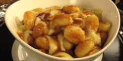 The Gnocchi Poutine, a Fusoin of Italian and French Canadian Culinary Culture