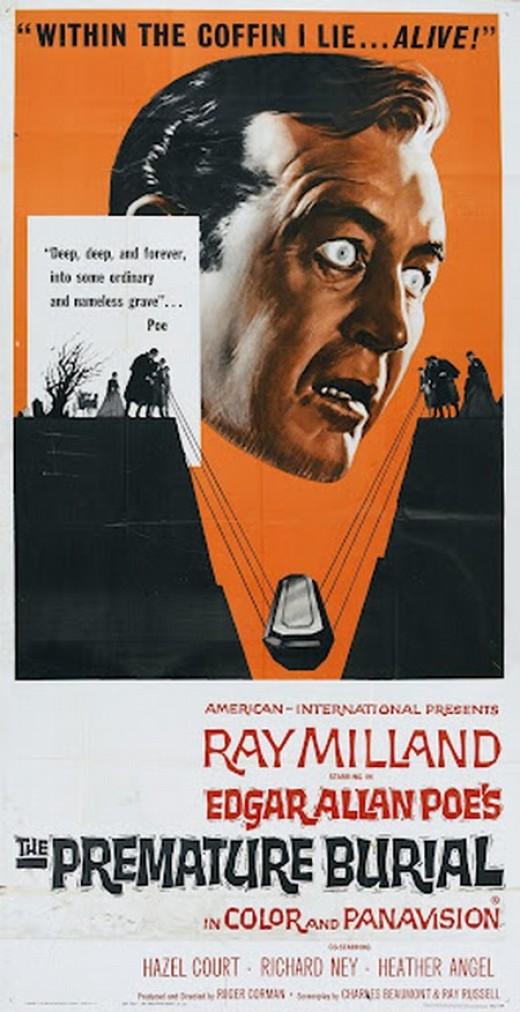 Premature Burial (1962) poster