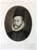 Philip II of Spain, by Anton Masson