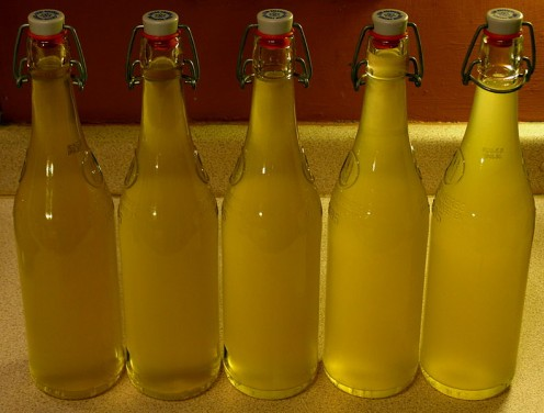 Home made lemon cordial makes for a delicious, refreshing summer drink