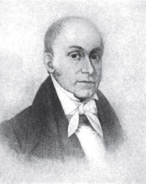 Dr. Ephraim McDowell, who performed the world's first ovariotomy