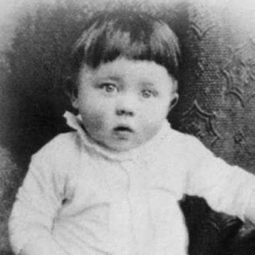 Adolf Hitler looked so innocent and pure