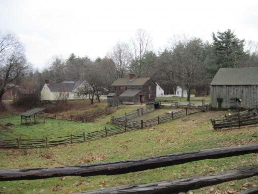 Old Sturbridge Village trip in Sturbridge, Massachusetts