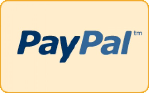 PayPal logo courtesy of PayPal.Com