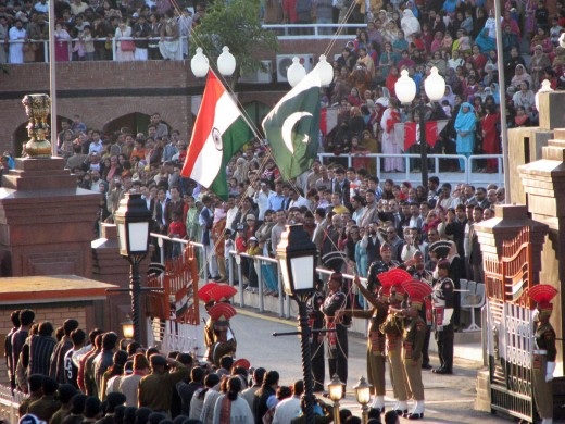 Wagah Border (India & Pakistan Border) Ceremony