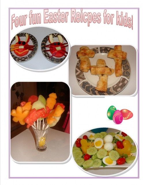 Easy, kid friendly recipes for Easter!
