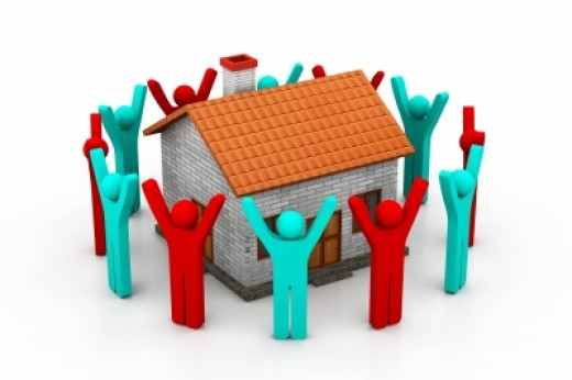Help build a house for the poor communities!