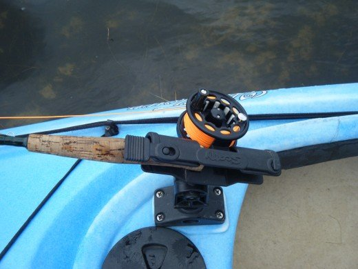 A fly rod holder