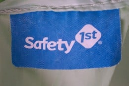 Safety 1st product tag
