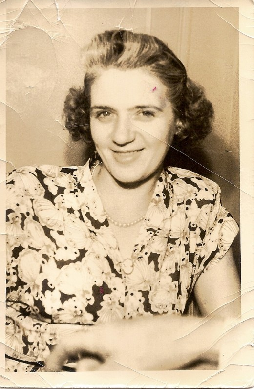 My Mom, early 1940s