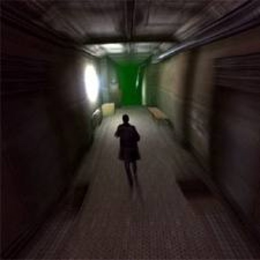 This level gets way worse then a distorted hallway. Trust me